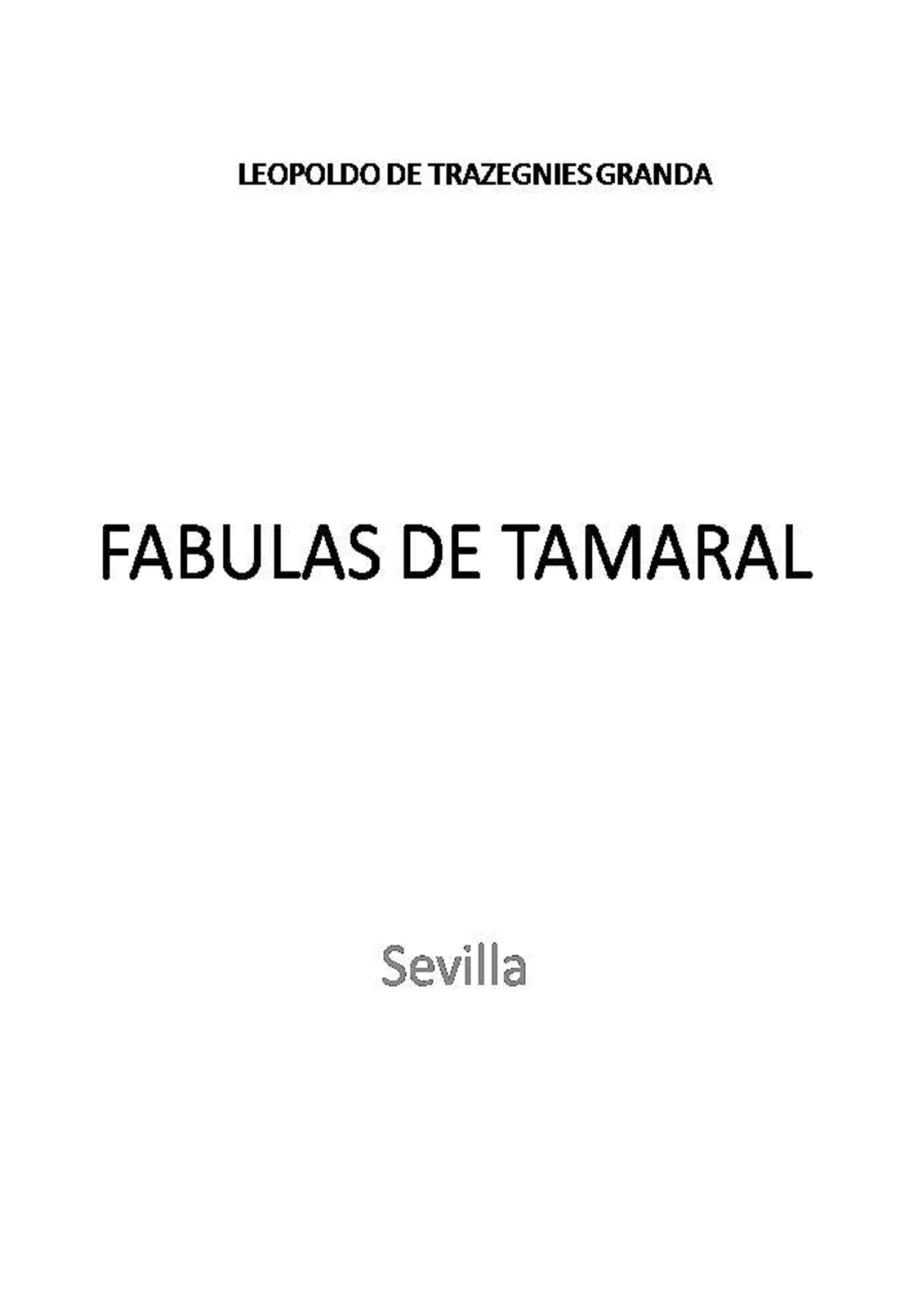 Fábulas de Tamaral