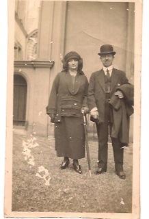 Carlos y Rosa. 1922