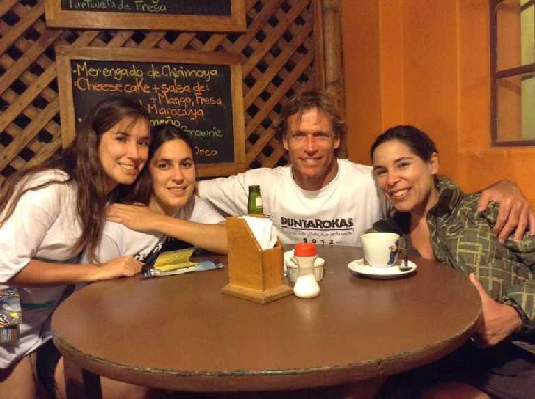 Alberto de Trazegnies García y familia. Lima