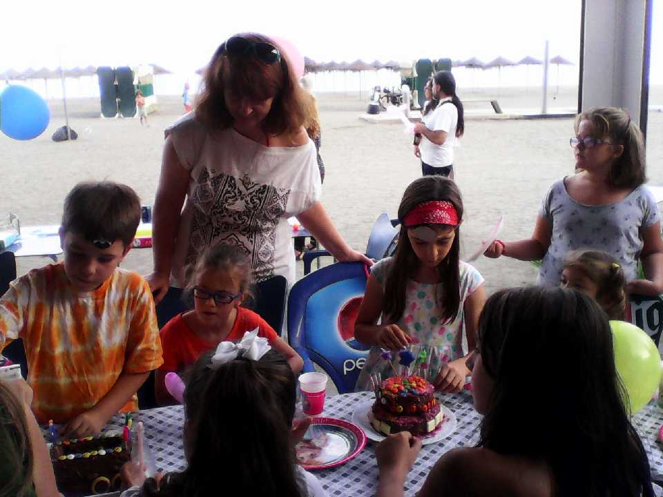 Cumple: 7 años. Malagueta, 2014