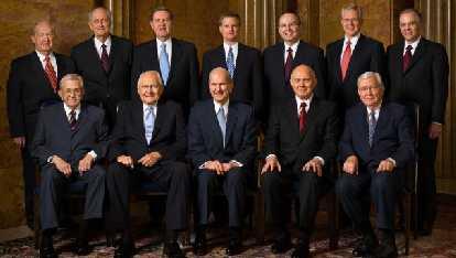apóstoles mormones