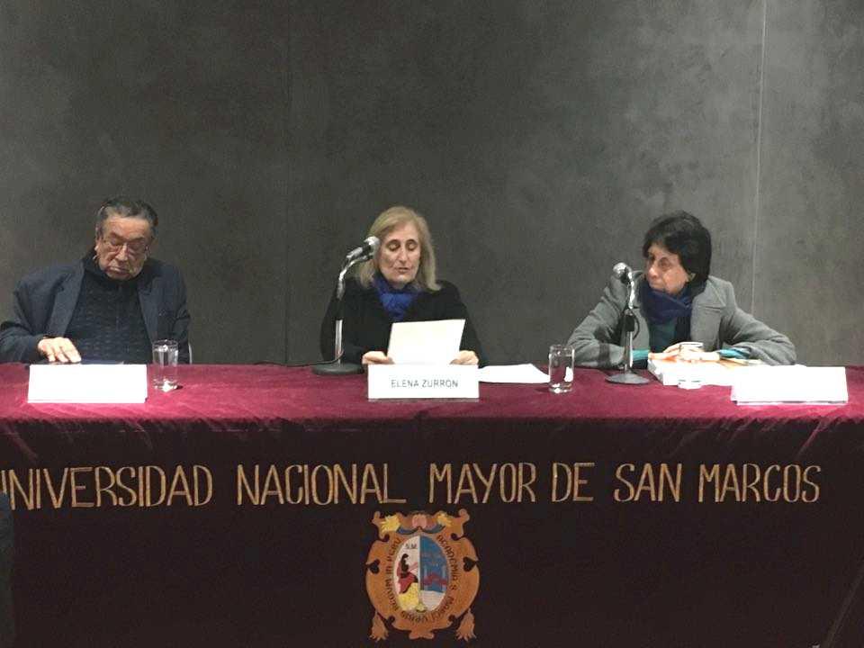 Presentación de la tesis en Lima