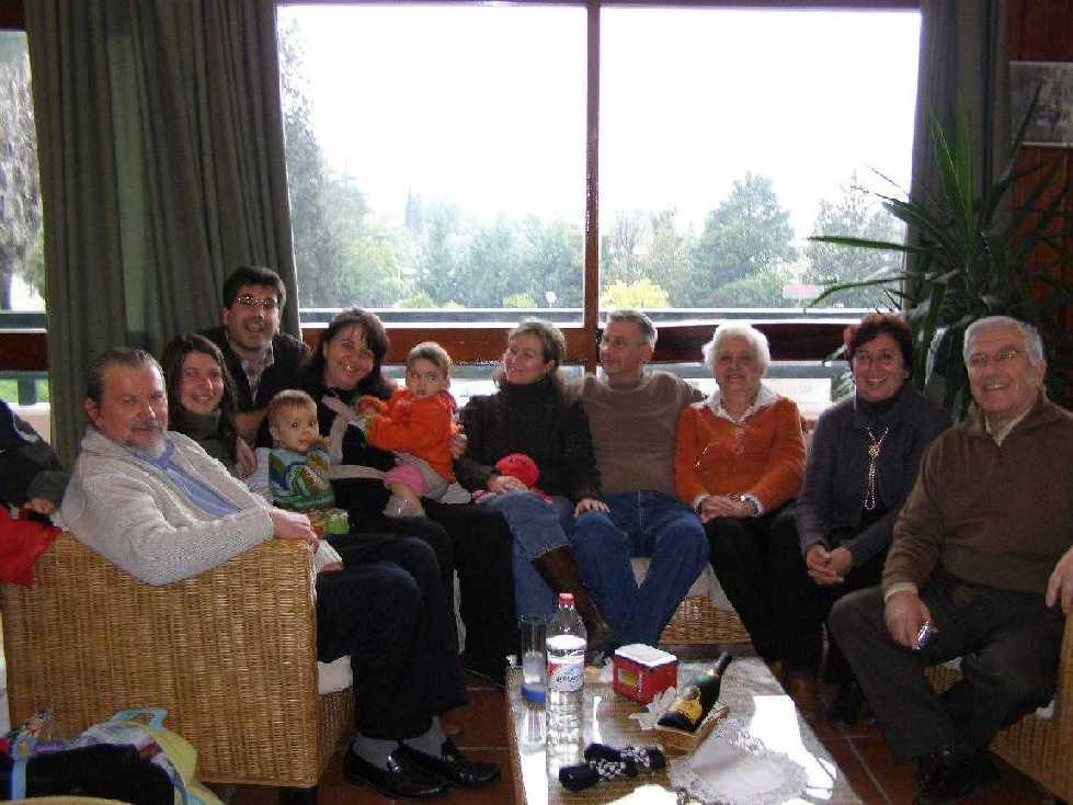 Navidades con los padres de Juan Miguel. Torrequinto. Alcalá, 2008