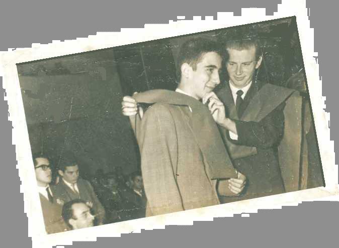 Fernando Tola y yo. Madrid, 1962