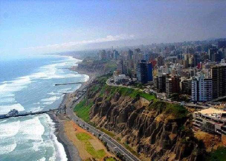 Acantilado de Miraflores. Lima (Perú)