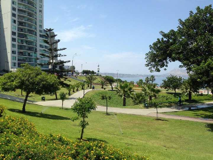 Miraflores actual. Lima (Perú)