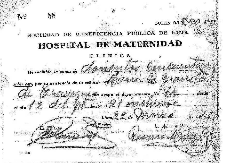 Maternidad de Lima